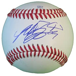 Madison Bumgarner Autographed Signed ROLB Baseball, San Francisco Giants, Proof Photo by Southwestconnection-Memorabilia