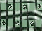 【 戸田屋商店 梨園染 】 注染 手ぬぐい 播磨屋格子
