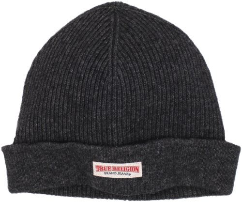 True Religion Men's Ribbed Watch Cap