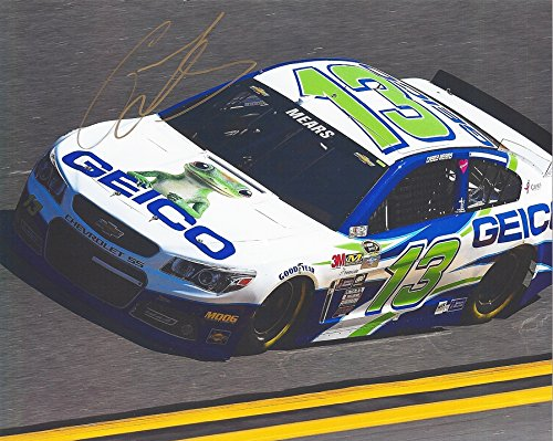 autographed-2016-casey-mears-13-geico-racing-chevrolet-ss-team-on-track-sprint-cup-series-8x10-inch-