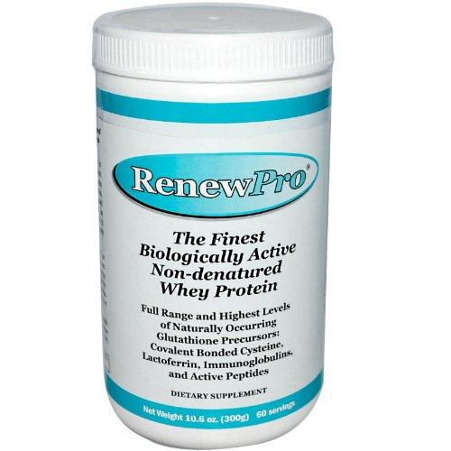 NutriCology RenewPro Non-Denatured Whey Protein Powder -- 10.6 oz