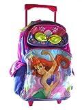 16 Disney Little Mermaid Ariel Large Rolling Backpack-tote-bag-school