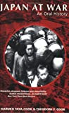img - for Japan At War by Haruko Taya Cook and Theodore Failor Cook (2000-05-03) book / textbook / text book