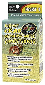 Zoo Med Laboratories SZMHC90 Hermit Crab Drinking Water Conditioner