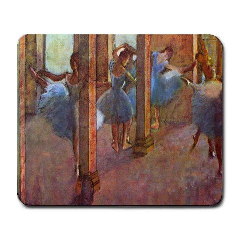 Dancers in the Foyer By Edgar Degas Mouse Pad