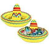 Inflatable Sombrero Cooler (holds apprx 10 12-Oz cans) Party Accessory (1 count) (1/Pkg) by Beistle