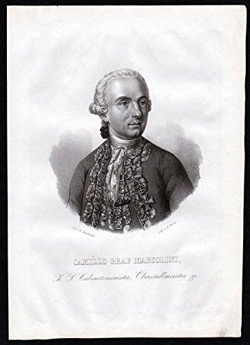 camillo-graf-marcolini-ferretti-minister-sachsen-lithographie-portrait