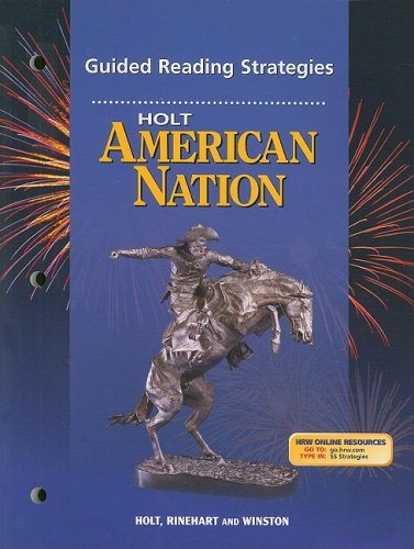 Holt American Nation Guided Reading Strategies (Holt Amer Nation 2003)