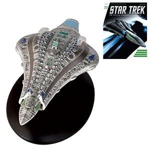 Star Trek Starships Voth City Ship Die-Cast Vehicle with Collector Magazine #70