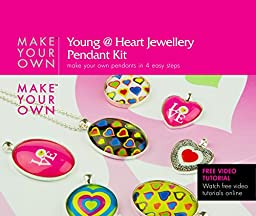 Glaze Make Your Own Young @ Heart Pendant Jewelry Kit (young)