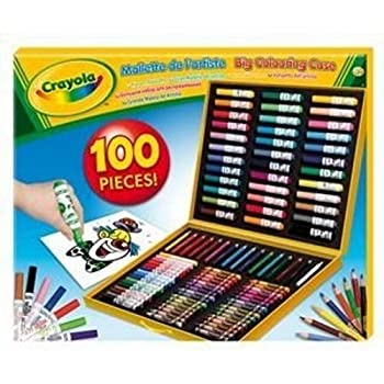 pas cher crayola 10651 loisir cr atif mallette de coloriage de l 39 artiste acheter en. Black Bedroom Furniture Sets. Home Design Ideas