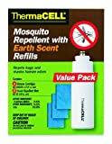ThermaCELL E-4 Mosquito Repellent with Earth Scent Refill - Value Pack