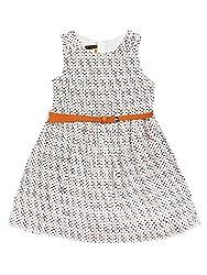 SuperYoung Girls' Orange Dress