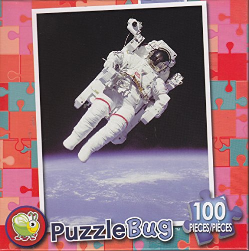 Puzzlebug 100 Piece Puzzle ~ Astronaut in Space. - 1