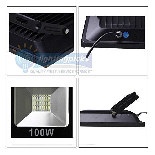 Faretto a led ultra slim da 100 watt ma produce luce da 900w ...