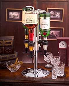 4 BOTTLE LIQUOR DISPENSER