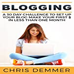 Blogging: A 30 Day Challenge to Set up Your Blog Make Your First $ in Less Than One Month | Chris Demmer