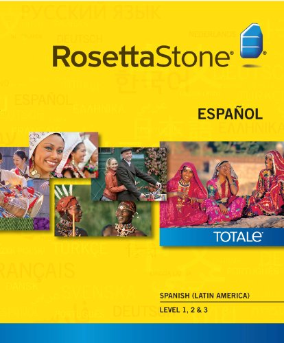 Rosetta Stone Spanish (Latin America) Level 1-3 Set [Download]