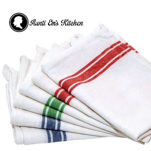 Dish towels are often kept separate from other kitchen towels, and have the most limited use out of all the types of kitchen towels. Tea Towels Tea towels are another linen towel that are used to dry kitchen items and cutlery, but can also be used to serve things like scones .