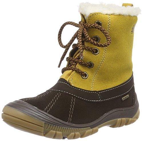 Primigi FLEN-E, Stivaletti da neve a gamba corta, imbottitura pesante Ragazzo, Marrone (Braun (CAFFE-OCRA)), 29