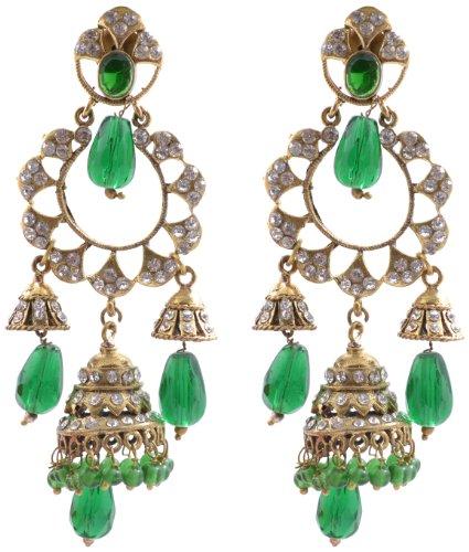 Niki Jewels Victoria Earring for women (White) (010 32 539)