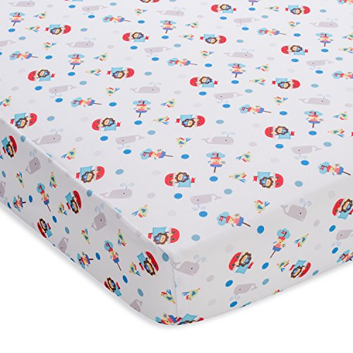BreathableBaby Wick Dry Sheet, Buried Treasure, Buried Treasure, Blue