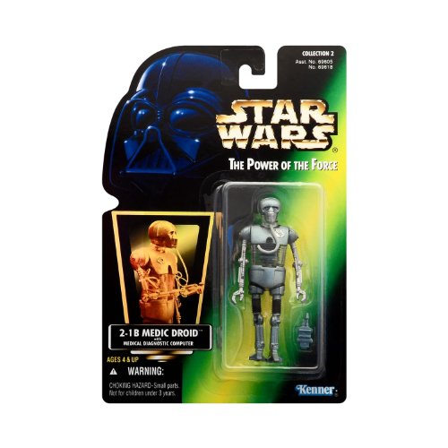 Star Wars - Power of the Force - 2-1B Medic Droid w/Medical Diagnostic Computer - Collection 2 - Collectible