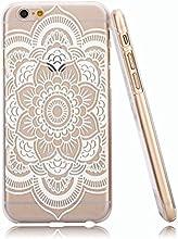 JIAXIUFEN Cuir Coque Strass Case Etui Coque étui de portefeuille protection Coque Case Cas Cuir Pour iPhone 6 4.7 pouce -Henna Full Mandala Floral Dream Catcher
