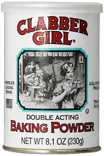 Clabber Girl Baking Powder, 8.1 oz.