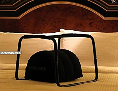 QUY Decadence Bounce Weightless Sex Stool / Multifunction Sex Seat Set With Pillow