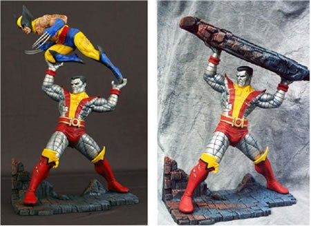 Buy Low Price Marvel X-Men Dark Phoenix Saga: Colossus Statue Figure (B000C9V4PY)