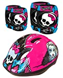 Stamp Monster High Helmet, Knee and Elbow Pads Set