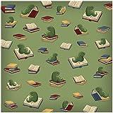 Karen Foster Design Scrapbooking Paper, 25 Sheets, Bookworm, 12 x 12