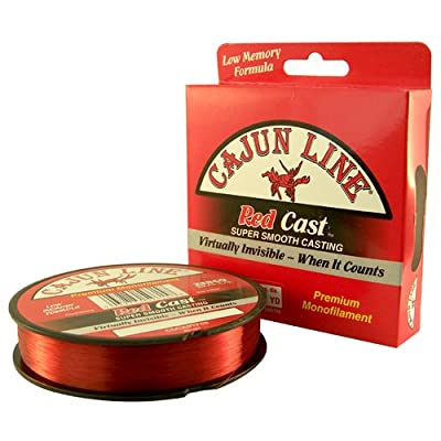 300 yds. Zebco Cajun Red Casting Monofilament Line, 10 LB from CAJUN