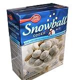 Betty Crocker Snowball Cookie Mix 28.2 Ounce Value Box