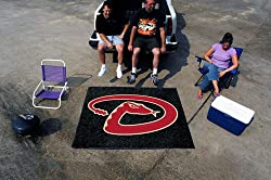 Arizona Diamondbacks 5'x6' Tailgater Floor Mat (Rug)