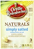 Orville Redenbacher's Gourmet Microwavable Popcorn, Natural Simply Salted, 3-Count Boxes (Pack of 12)