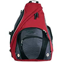 Urban Sport Polyester Multiple Compartment Messenger Cross Body Outdoor Biking Backpack - 3 Color Options