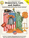 img - for Democracy, Law, and Justice, Grades 5 - 8 book / textbook / text book
