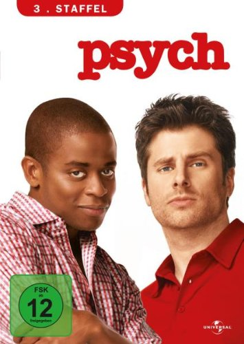 Psych - 3. Staffel [4 DVDs]