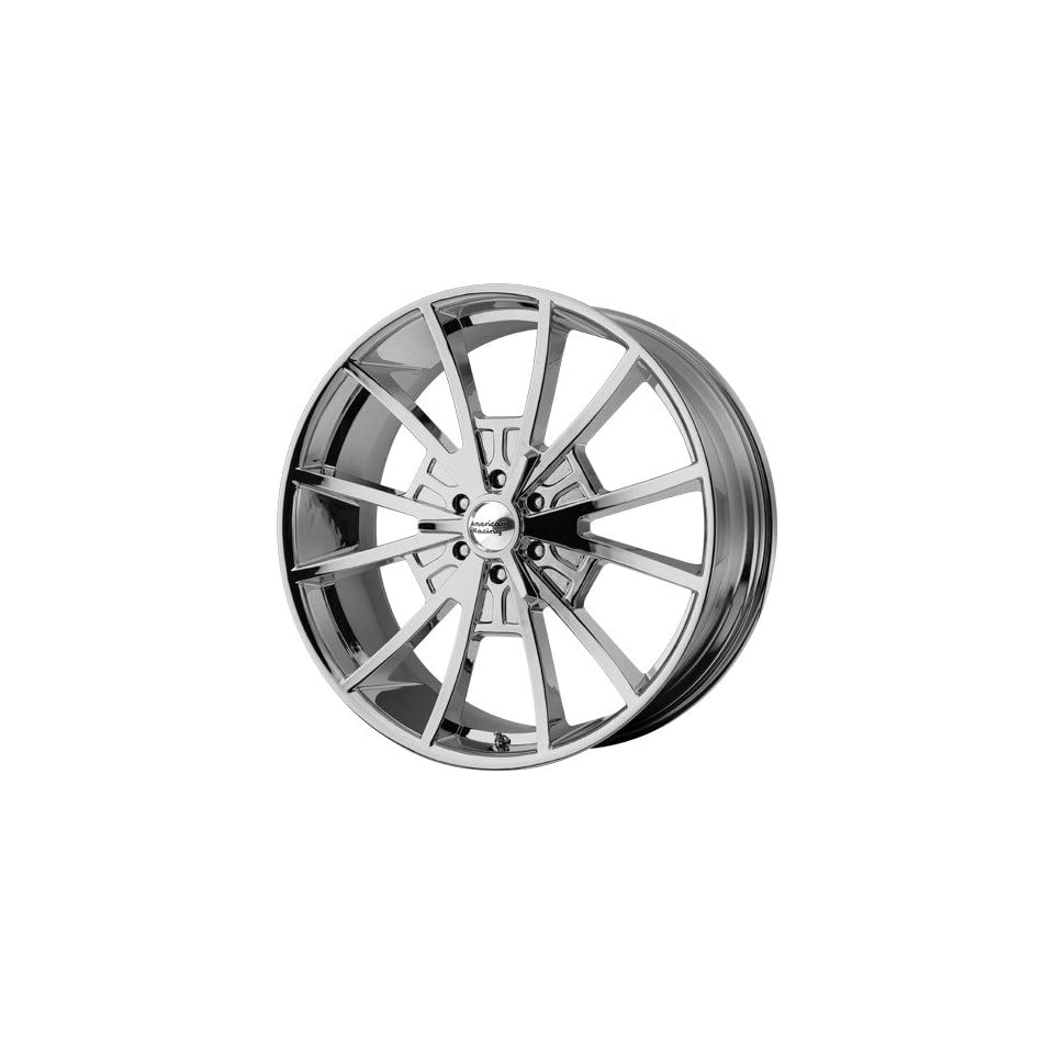 22x9 American Racing El Rey (Chrome) Wheels/Rims 6x139.7 (VN80322961235)