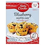 Betty Crocker Blueberry Muffin Mix with Muffin Cases (375g)