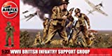 Airfix A04710 WWII British Infantry Support Set 1:32 Scale Military Series 3 Figures