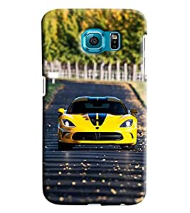 Clarks Printed Designer Back Cover For Samsung Galaxy S6 Edge Plus