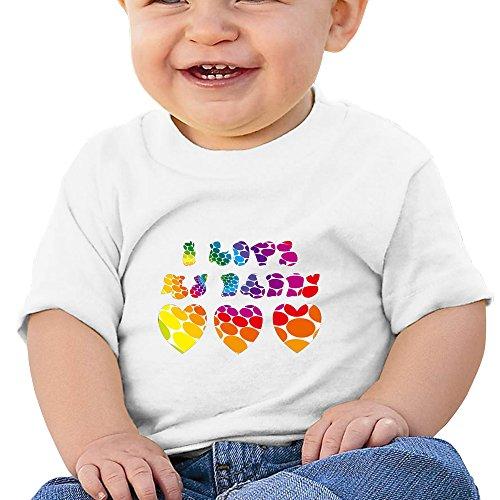 Kim Lennon I Love Daddy Custom Newborn High Quality Tshirt Size Size Key White