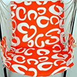 New Oxford Cloth Hanging Chair Swing Chair Indoor Strap Swing Multifunctional Emperorship Swing Lanyard Hammock Indoor Outdoor (orange)