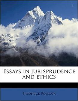 Jurisprudence essay