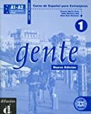 img - for Gente 1, libro de trabajo + CD (Spanish Edition) book / textbook / text book