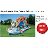 GIGANTIC Water Slide / Waterfall / Pool / Hours of Entertainment Party