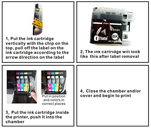 Inkjet Printer Ink ITinte Brother LC203 Ink Cartridges
